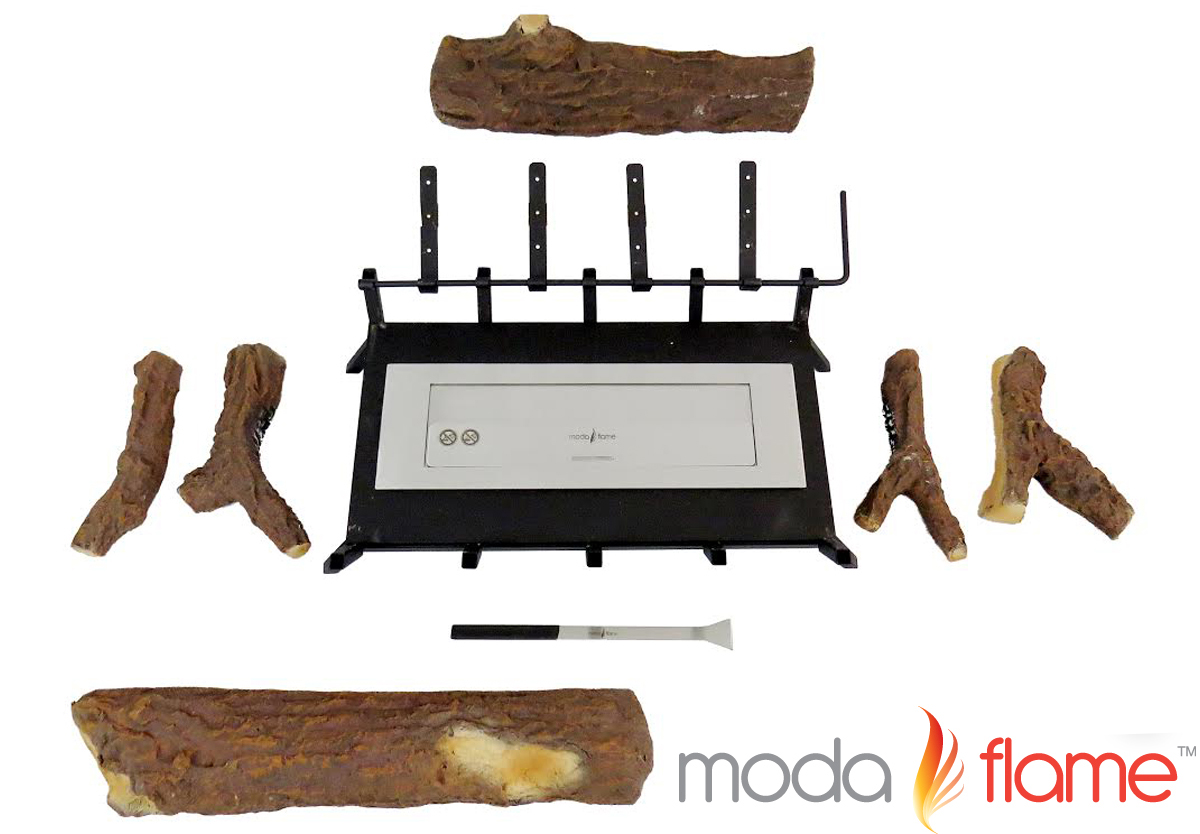 Moda Flame 24 Quot Convert To Ethanol Gas Log Fireplace Burner