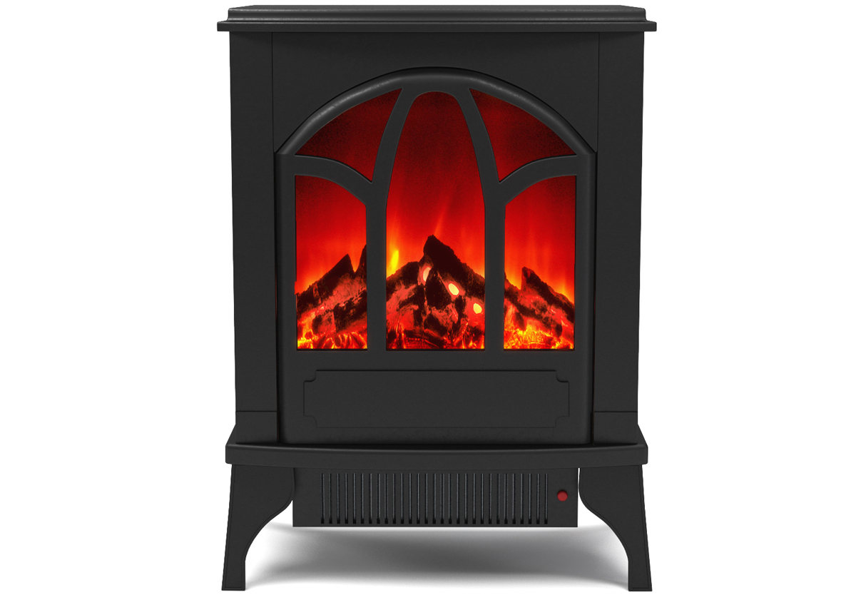 Sutton Electric Fireplace Stove Insert with Heater