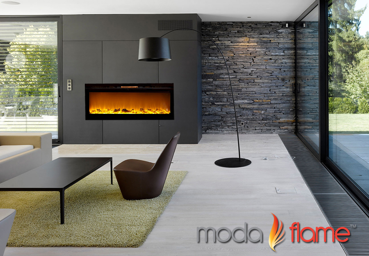 Moda Flame  Built In Electric Fireplace