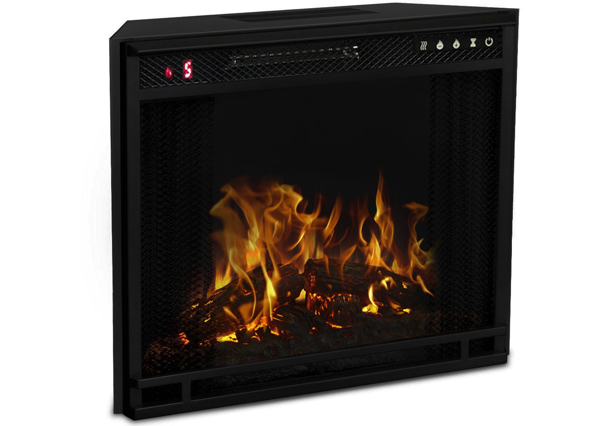 28 Inch LED Electric Firebox Fireplace Insert
