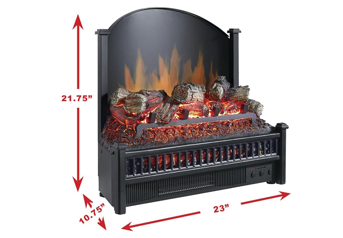 - Woodmere 24 Inch Electric Fireplace Insert