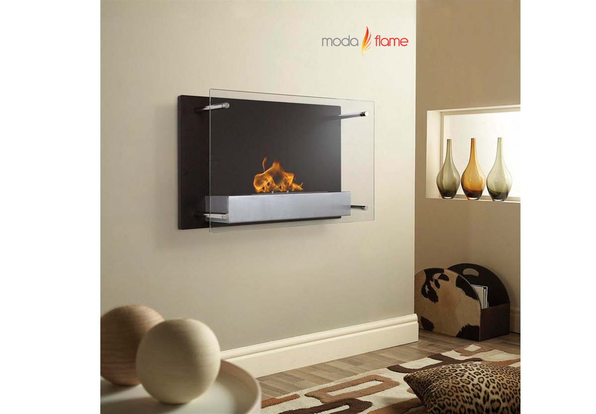 epila wall mounted ethanol fireplace -