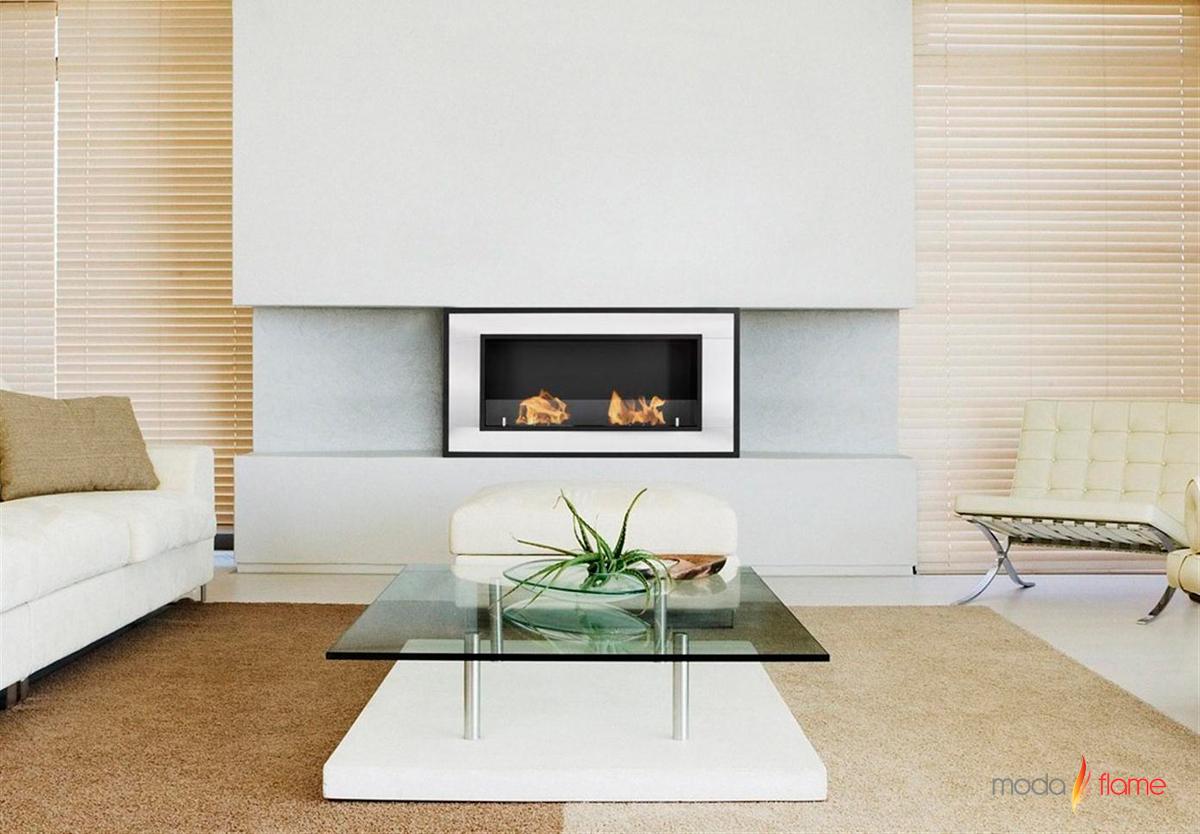lugo wall mounted ethanol fireplace -