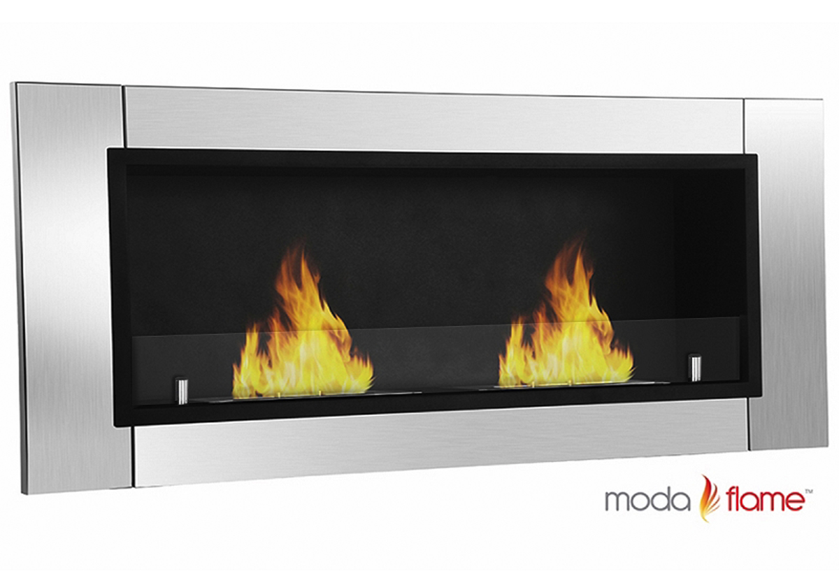 moda flame valencia wall mounted ethanol fireplace - valencia wall mounted bio ethanol fireplace