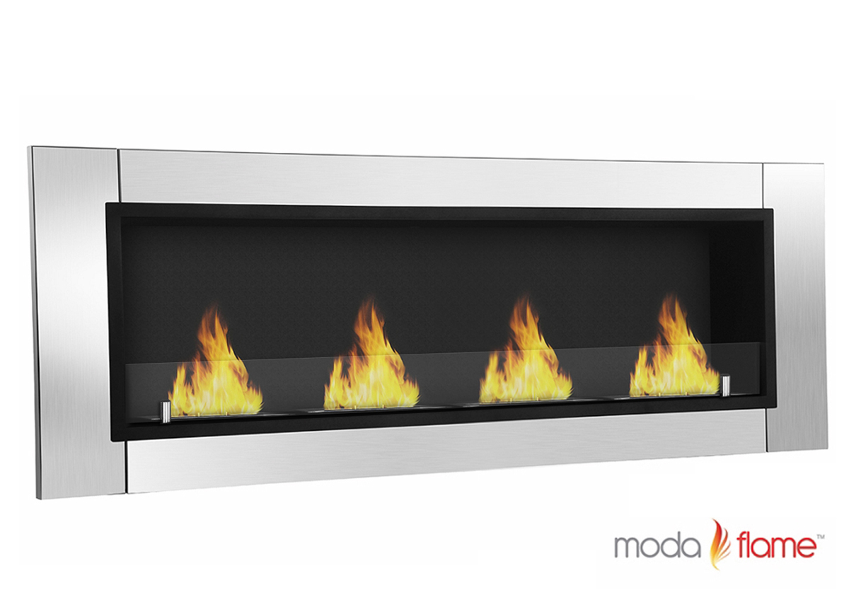 ventless bio ethanol wall mounted fireplace - wraith ventless bio ethanol wall mounted fireplace