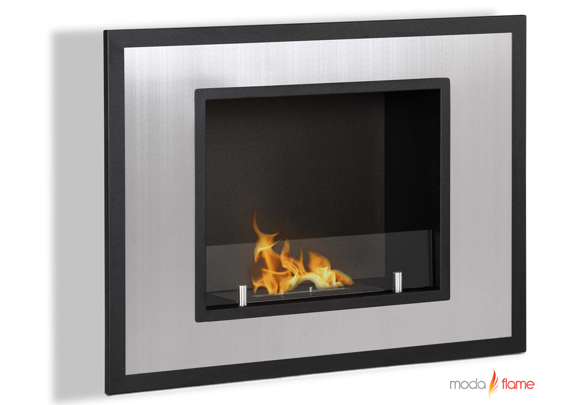 wall mounted ethanol fireplace - rio wall mounted ethanol fireplace