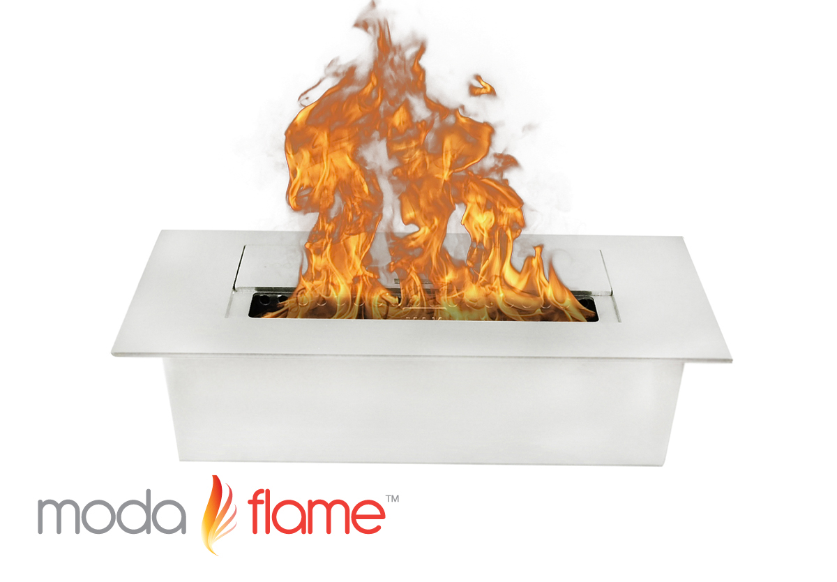 Moda Flame 1 5L Indoor Outdoor Ethanol Fireplace Burner Insert