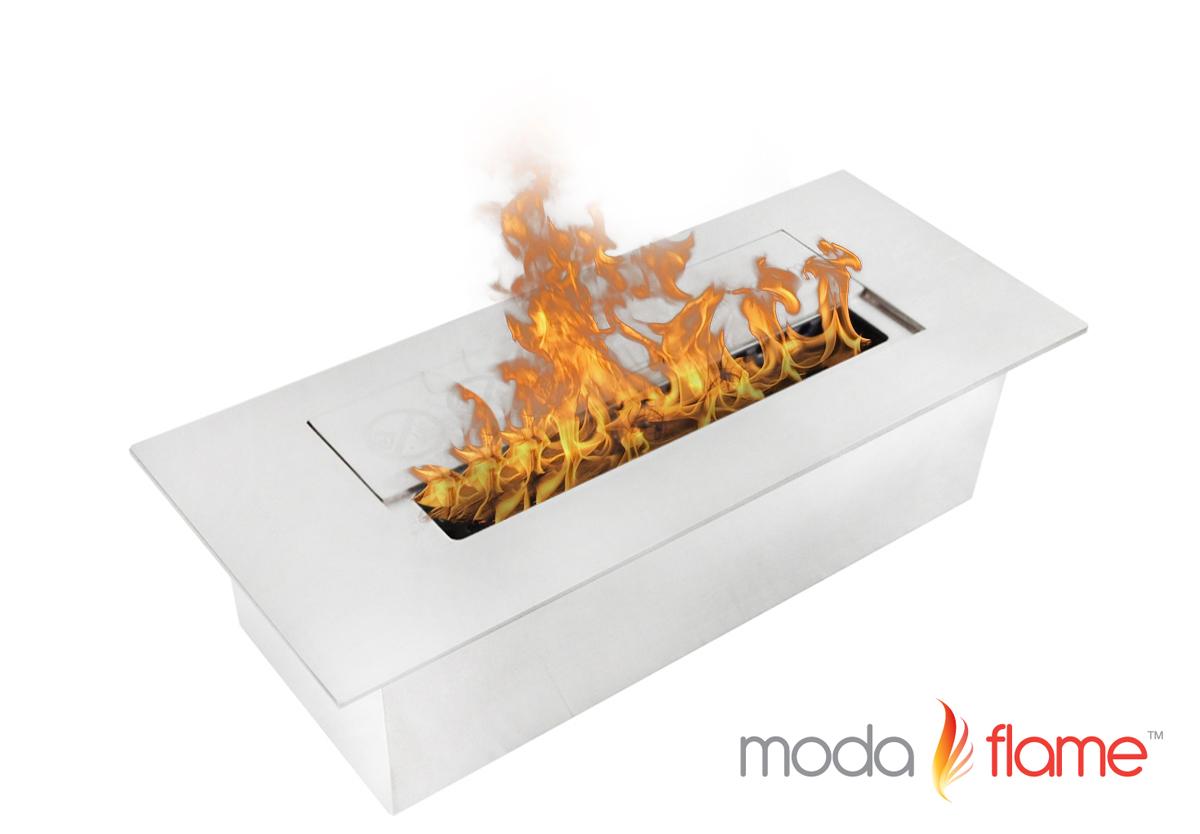 3L Indoor Outdoor Gel Fuel Ethanol Fireplace Burner Insert - Moda Flame 3L Indoor Outdoor Ethanol Fireplace Burner Insert