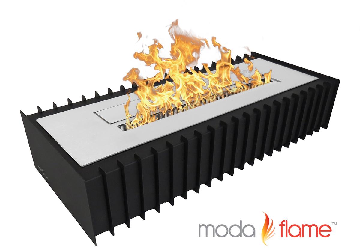 PRO Ventless Bio Ethanol Fireplace Grate Burner Insert