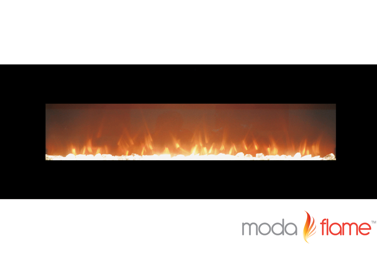 Moda Flame 72 Quot Skyline Crystal Linear Wall Mounted