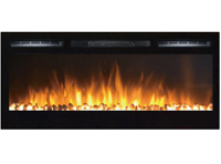 Electric Built-in Recessed Fireplaces