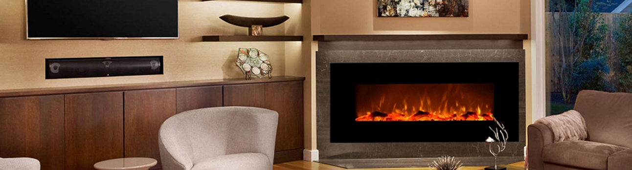 Electric Wall Mounted Fireplaces