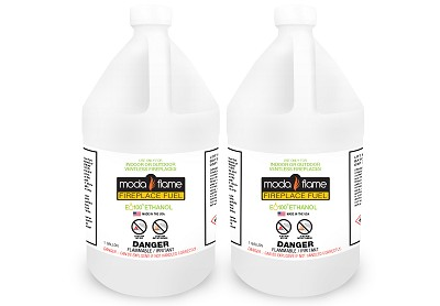 Moda Flame Ventless Bio Ethanol Fireplace Fuel - 2 Gallons