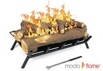 24 Inch Convert to Ethanol Gas Log Fireplace Burner Insert