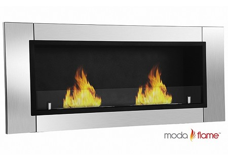 Valencia Wall Mounted Bio Ethanol Fireplace