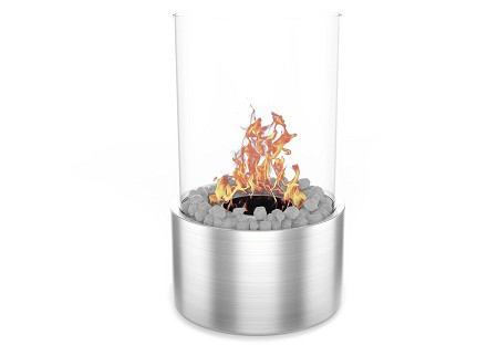 Ghost Tabletop Firepit Ethanol Fireplace Stainless Steel