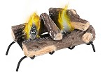 Convert to Ethanol Gas Log Fireplace Burner Insert
